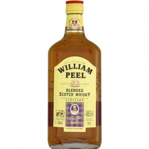 William peel Whisky Ecosse Blended 40% vol. - La bouteille de 70cl