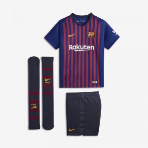 Nike Tenue de football 2018/19 FC Barcelona Stadium Home pour Jeune enfant - Bleu - Couleur Bleu - Taille S