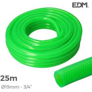 Tuyau d'arrosage EDM Diamètre 19 mm 25 m Anti UV