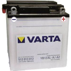 Image de Varta Batterie Moto 12v Yb12al-A / ? A2