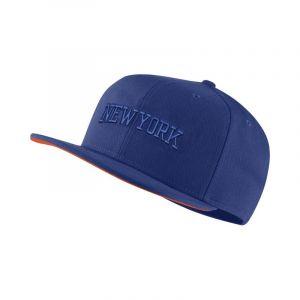 Nike Casquette NBA New York Knicks AeroBill - Bleu - Taille Einheitsgröße - Unisex