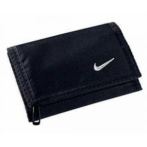 Nike Portefeuilles -accessories Basic Wallet - Black / White - Taille One Size