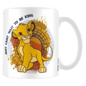 Mug en porcelaine Le Roi Lion Cant Wait To Be King