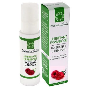 Divinextases Lubrifiant Intime - Framboise Flacon Pompe 100ml