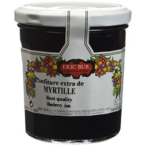 Eric Bur Confiture Extra Myrtilles 370 g - Lot de 3