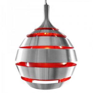 Kokoon Design Suspension de lampe HALLEY (ROUGE)