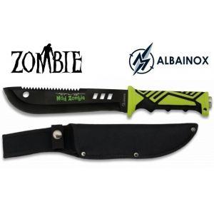 Zoom Poignard couteau 32,5cm de combat - Design ZOMBIE