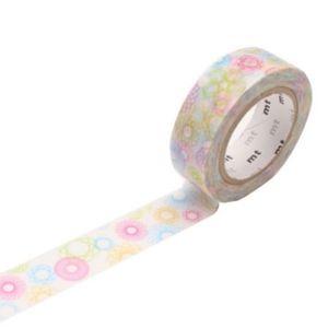 Masking tape mt Ruban décoratif adhésif - EX motif ellipses