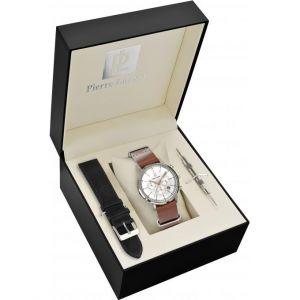Pierre Lannier 376A124 - Coffret montre pour homme Quartz Chronographe