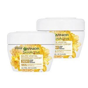 Garnier SkinActive - Baume végétal nourrissant confort au miel de fleurs