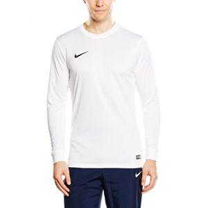 Nike Maillot de Foot Manches Longues - Blanc - XXL