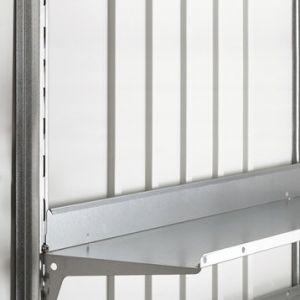 Biohort fixation verticale en acier galvanisé Europa