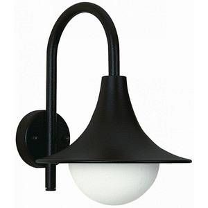 Albert Leuchten Applique d'extérieur élégante 167 noire