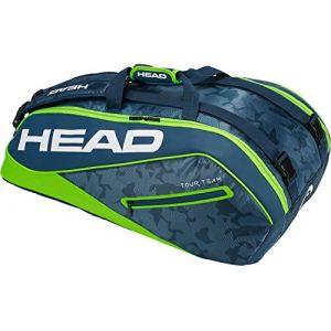 Head Tour Team 9R Supercombi Sac de raquette de tennis N/A bleu marine/vert