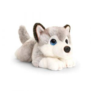 Keel Toys SD2458 Peluche Gris/Blanc
