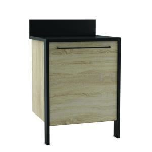 meuble cuisine bas 1 porte 60 cm comparer 273 offres. Black Bedroom Furniture Sets. Home Design Ideas