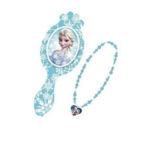 Taldec A1501977 - Brosse avec collier La Reine Des Neiges