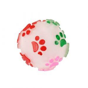 Dogi Jouet pour chien - Balle sonore - Multicolore