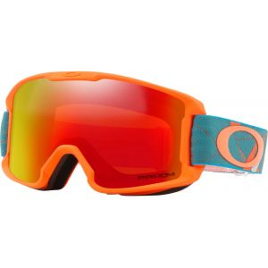 Oakley Masques de ski Line Miner Youth - Prizmatic Org Sea - Taille Prizm Snow Torch Iridium/CAT 3