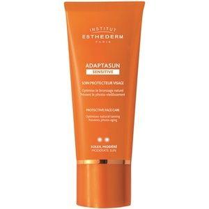 Institut esthederm Adaptasun - Crème protectrice visage soleil modéré