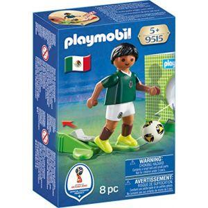 Playmobil 9515 - Coupe du Monde de la FIFA Russie 2018 - Joueur de foot Mexicain