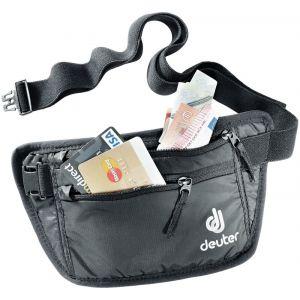 Deuter Security Money Belt I - Sac banane taille 12 x 24 cm, noir/gris