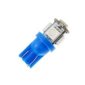 Paire d'ampoules 1SMD T10 wedge 24V Bleu