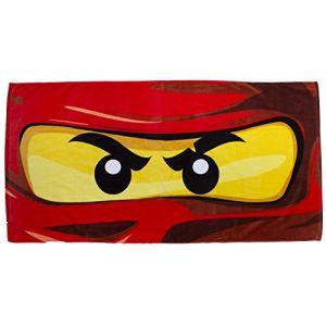Character World Serviette de bain Lego Ninjago eyes (70 x 140 cm)