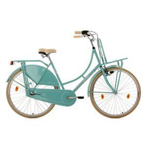 KS Cycling 326H Tussaud Vélo avec porte bagage avant Vert Menthe 28