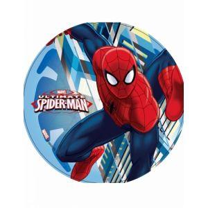 Modecor Disque en azyme Ultimate Spiderman en action 21 cm Taille Unique