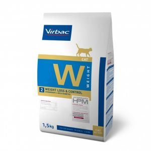 Virbac Vet HPM Diet Chat - W2 Weight Loss & Control 1,5 Kg