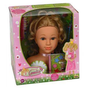 Image de Klein Tête à maquiller et à coiffer Princesse Coralie