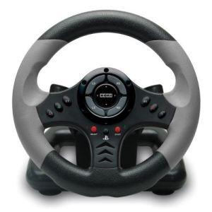 Hori Volant de courses 3 + pédalier PlayStation 3