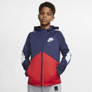 Nike Veste Sportswear Garçon - Bleu - Taille XS - Male