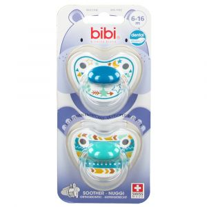 Bibi Tétine Happiness Trends Duo Dental Duo 6-16m