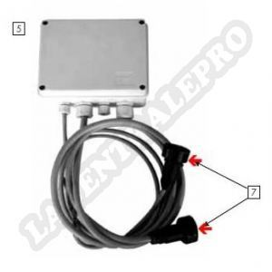 Procopi 32270166 - Connecteurs mâles pour moto-réducteur Aquamat 2001
