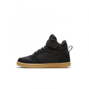 Nike Chaussure Court Borough Mid Winter pour Jeune enfant - Noir Taille 29.5