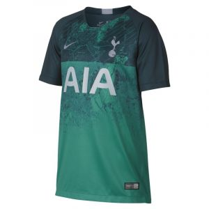 Nike Maillot de football 2018/19 Tottenham Hotspur Stadium Third pour Enfant plus âgé - Vert - Taille XS