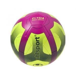 Uhlsport Ballon de Football Elysia Mini - Jaune et rose