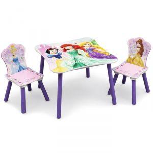 Delta Children Table enfant et 2 chaises Disney Princesses