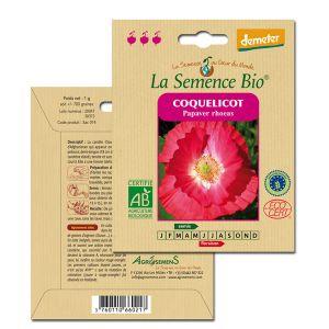 La Semence Bio Graines de Fleur Coquelicot
