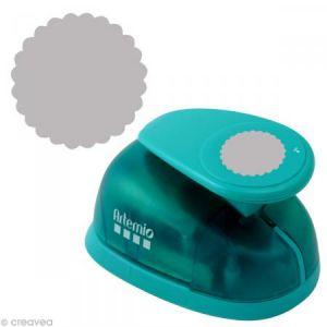 Artémio VIHCP728 Perforatrice Jumbo Cercle Dentellé, Plastique, Multicolore, 14 x 9 x 23 cm