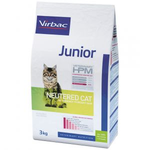 Virbac Junior Cat Neutered - Sac 400 g
