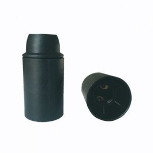 Matilec Douille E14 thermoplastique lisse noir