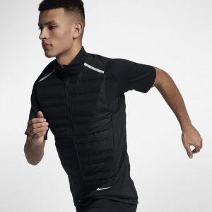 Nike Veste de running AeroLoft pour Homme - Noir - Taille 2XL - Male