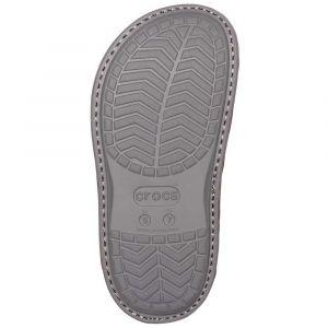 Crocs Classic Convertible Slipper, Chaussons Montants Mixte Adulte, Rouge (Burgundy/Charcoal 60v), 43/44 EU
