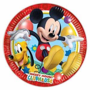8 assiettes Mickey (23 cm)
