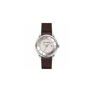 Ted Lapidus 5129302 - Montre pour homme avec bracelet en cuir