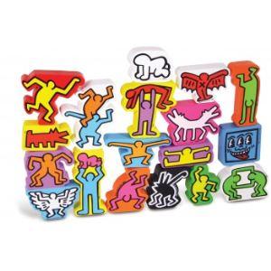 Vilac 9203 - Jeu d'équilibre Keith Haring