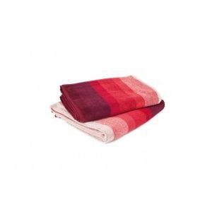 Harmony Ito - Drap de bain rubis (70 x 130 cm)